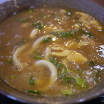 豊川 - 料理写真:カレーうどん