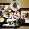温泉旅館ゆもと - 料理写真: 夕食