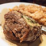 Roti - なめ茸の炊き込みごはん&ハンバーグ(特製マヨソース)