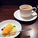 Roti - ランチのデザート&エスプレッソ