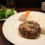 Roti - ハンバーグランチ(特製マヨソース)