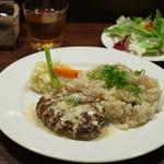 Roti - 日替わりハンバーグランチ(特製マヨソース)