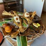 Chimatsushima - 【つと豆腐、柚子釜、玉こんにゃく、秋刀魚飯蒸し】★2020/11