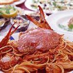 オリーブ - オリーブ人気の渡り蟹のトマトソーススパゲティ