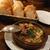 バル・イスパニヤ - つぶ貝と夏野菜のアヒージョ