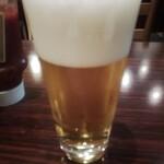 コーナーズグリル - 生ビール(2杯目)