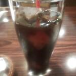 コーナーズグリル - 食後のアイスコーヒー