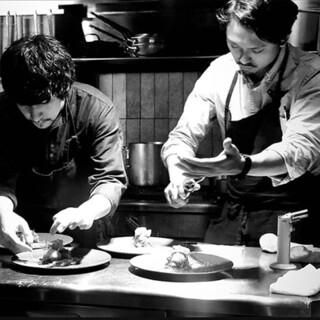 【料理人】イタリアンの枠を超えた他業態とのコラボ