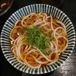 そば宏 - カツカレー丼大盛り丼ぶり定食(わんこ(大)、お茶)