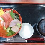丼の店 おいかわ - 宮古海鮮丼(1550円)
