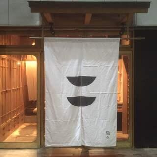 RIVAの入り口は、和菓子屋「島々」