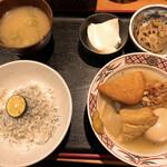 魚日和 - おでんとしらす御飯