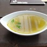 リトル ランカ - 食前スープ