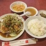 東林 - 油淋鶏定食700円