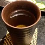 ほっこり - 紀州南高梅酒(お湯割り)