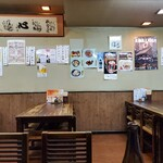 Enshiyuuya - 壁メニュー