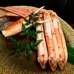 すき焼きと蟹 梅田 - ずわい蟹