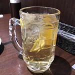 142738376 - シャンディガフ(生ビールのジンジャエール割り)