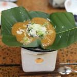 旅館 焼乃湯 - 朴葉味噌(朝食)
