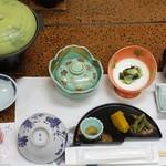 旅館 焼乃湯 - 夕食セット
