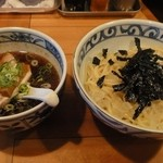 大和つけめん 春日 - 料理写真:鯛だししぐれつけ麺 800円 ※〆の雑炊付