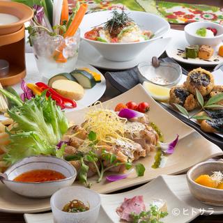デートや女子会にピッタリ九州の食材が美味しい古民家カフェ。