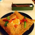 ソバトガレット あずみの - 料理写真: