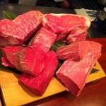 1864 - 本日のお肉 A5但馬牛と松坂牛