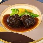 ボンヌマン - 和牛頬肉の煮込み