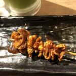 水炊き・焼鳥・鶏餃子 とりいちず - 秘伝かわ串。