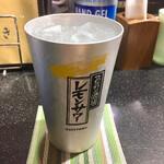 三酉屋 - ドリンク写真:レモンサワー350円別