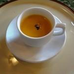 セルフィーユ - 8月11日 冷製カボチャスープ