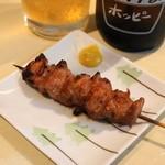 喜美松 - 2012.8 かしら味噌(1串120円)