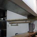 麺壱 吉兆 - 大小様々な麺打ちの「青竹」