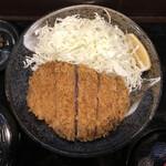 142760987 - 上キセキカツ定食(200g)。                       美味し。