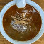 かつ平 - 鉄火麺のアップ