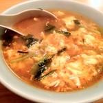 中華料理 たんたん - たんたん麺 辛さは普通