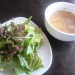 wattsuzaraifusutairu - サラダ、スープ
