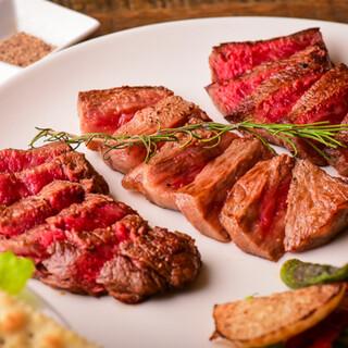 絶品宮崎牛を味わい尽くす!お肉の他、豊富なおばんざいも好評◎