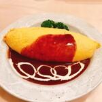 洋食工房 陶花 - 料理写真:オムライスのデミグラス
