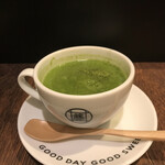 MARUFUJI CAFE - 残った抹茶で【抹茶オレ】作って貰えます