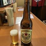 大旦那 - 瓶ビール(サッポロ)♪