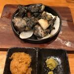 宮崎酒場ゑびす - 霧島鶏もも鉄板焼き小680円