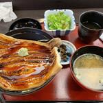 さんとり茶屋 - 松島あなご丼