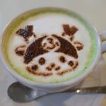 カフェ 花見 - (2020/11月)「ふかっちゃん抹茶ミルク」