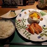 懐石カフェ 蛙吉 - 国産若鶏のグリルチキン