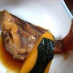 Kogureshokudou - 小暮食堂 @佐野 定食に付くメバルの煮付け