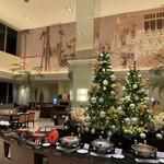 142802709 - クリスマスのバフェテーブル