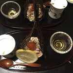 旬味 鮮心 魚屋 富重 - 女蟹と蟹茶碗蒸し