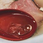 142808651 - 特製 鶏だし塩ラーメン(スープ)